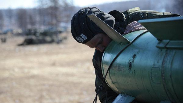Учения войск ПВО Восточного военного округа. Архивное фото