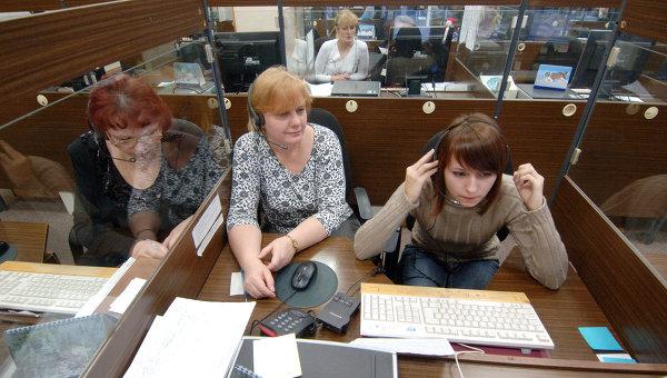 Работа операторов. Архивное фото