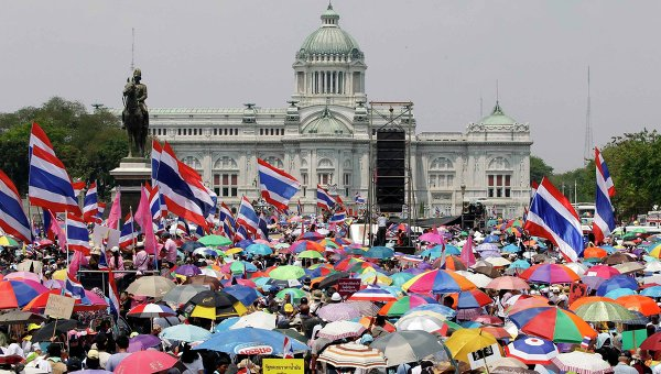Антиправительственные демонстрации в Бангкоке. Архивное фото