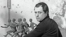 Cкульптор Михаил Переяславец. Архивное фото