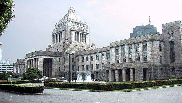 Здание японского парламента. Архивное фото