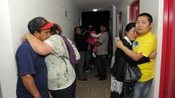 Эвакуация жителей чилийского города Икике в связи с угрозой цунами