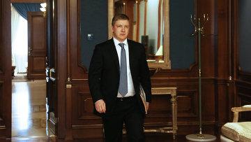 Глава Нафтогаз Украины Андрей Коболев, архивное фото
