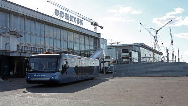 Аэропорт в Донецке. Архивное фото