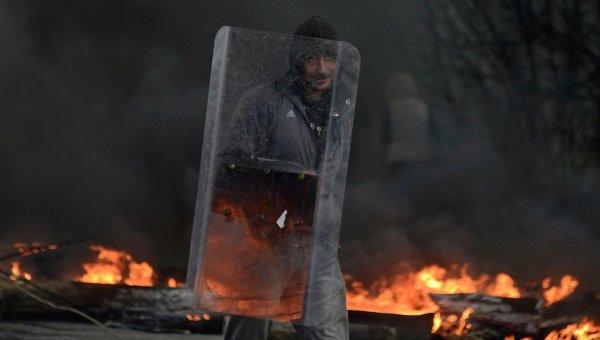 Ситуация в Славянске 13 апреля 2014