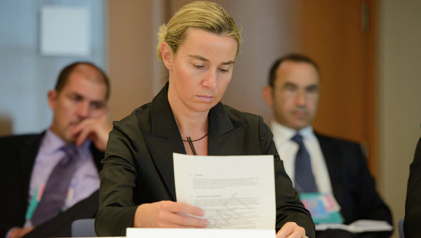 Министр иностранных дел Италии Федерика Могерини. Архивное фото