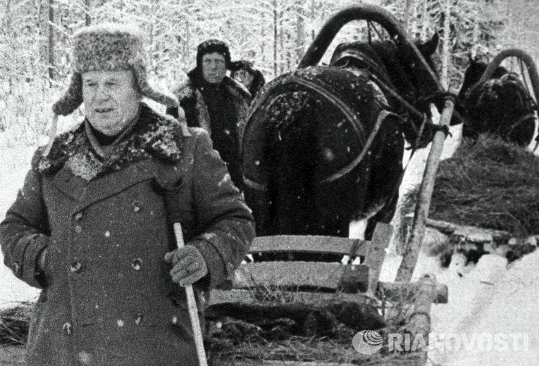 Советский партийный и государственный деятель Никита Хрущев, 1958 год