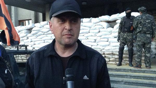 Народный мэр Славянска Вячеслав Пономарев