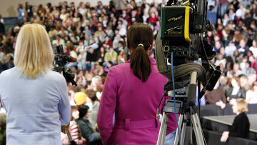 Представители СМИ. Архивное фото