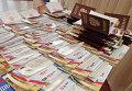 Паспорта Российской Федерации, приготовленные для вручения