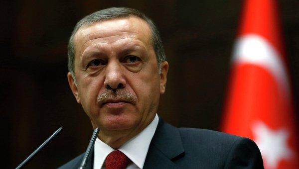 Президент Турции Тайип Эрдоган.Архивное фото.