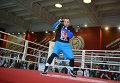 Чемпион мира в первом тяжелом весе по версии WBA Денис Лебедев