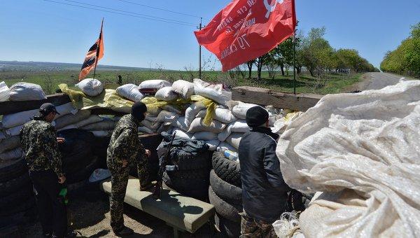 Ситуация в окрестностях Славянска