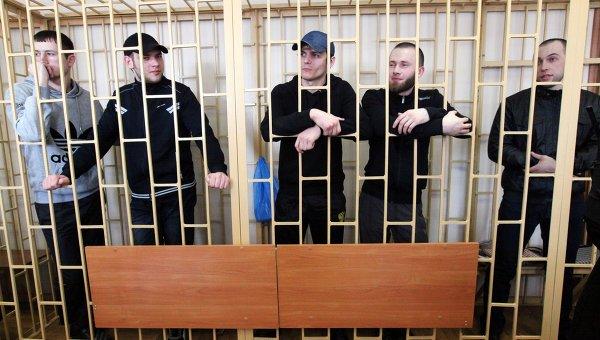Оглашение приговора по делу приморских партизан