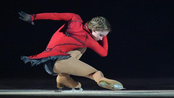 Олимпийская чемпионка по фигурному катанию Юлия Липницкая. Архивное фото