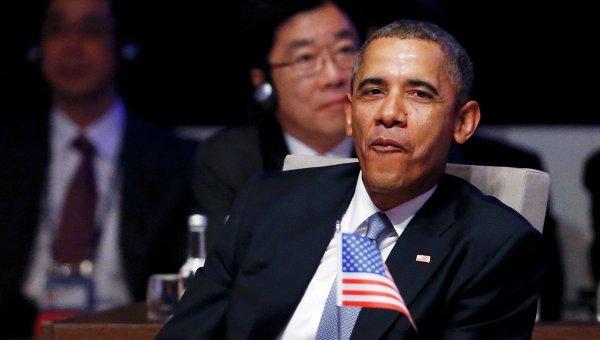Американский президент Барак Обама