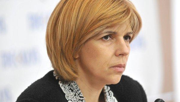 Кандидат в президенты Украины Ольга Богомолец.