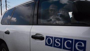Машина наблюдателей ОБСЕ, Архивное фото
