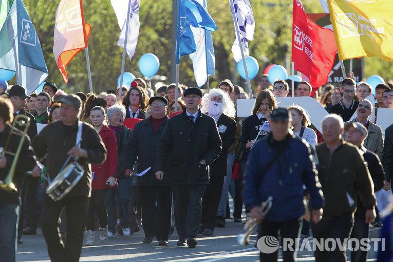 Празднование Дня радио в Томске