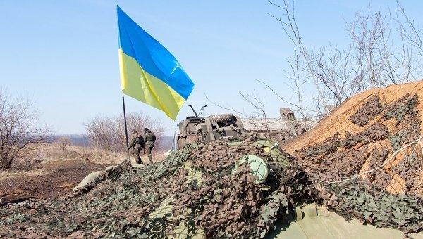 На границе между Украиной и Россией. Архивное фото