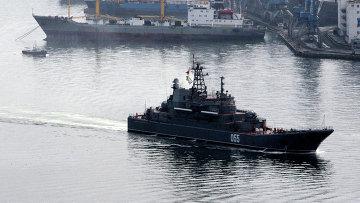 Корабли Тихоокеанского флота вышли на учения. Архивное фото