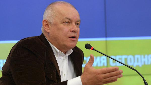 Генеральный директор Международного информационного агентства Россия сегодня Дмитрий Киселев. Архивное фото