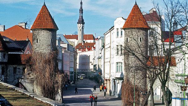 Старая часть города Таллина. Архивное фото