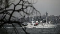 Корабль-разведчик ВМС Франции Дюпюи де Лом