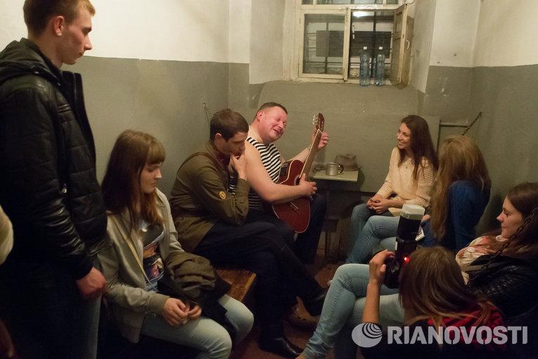 Ночь в музее-2014 томском музее Следственная тюрьма НКВД