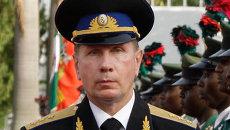 Новый главнокомандующий внутрениих войск РФ Виктор Золотов. Архив