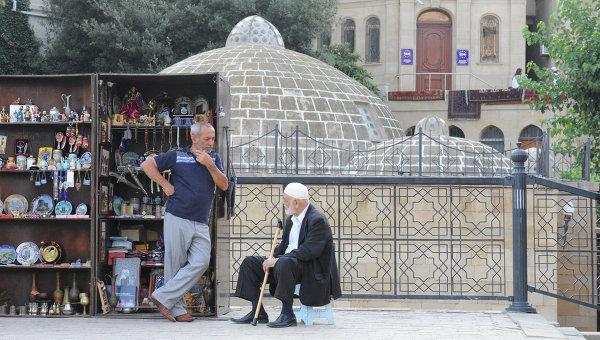 Баку. Азербайджан. Архивное фото