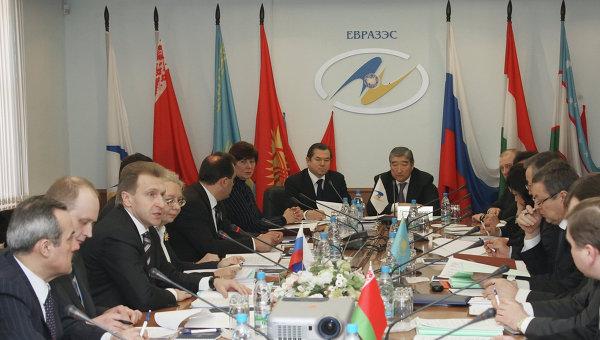 Заседание Комиссии таможенного союза ЕврАзЭС. Архивное фото
