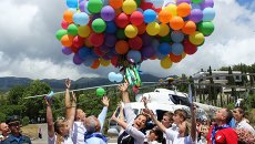 Международный день защиты детей в Артеке
