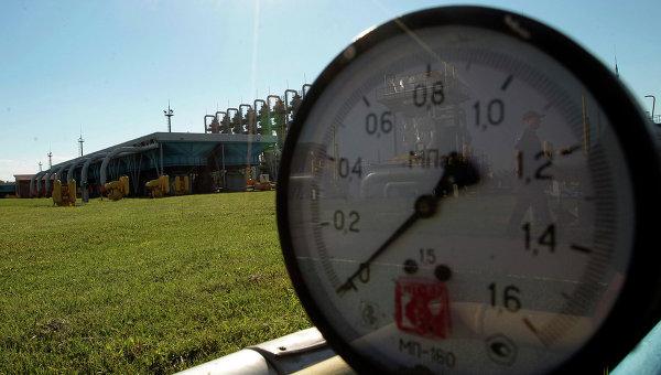 Газовое хранилище, архивное фото