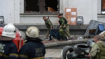 При авианалете ВВС Украины на обладминистрацию Луганска погибли пятеро
