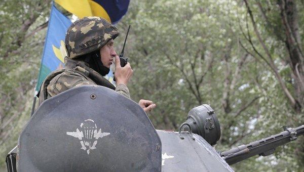 Бронетехника украинской армии. Архивное фото