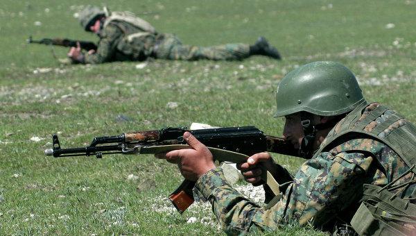Учения НАТО. Архивное фото.