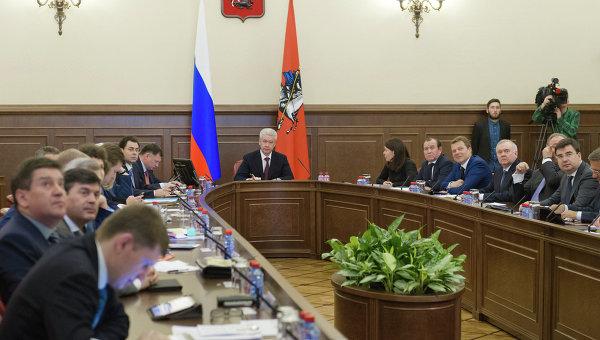 Совещание по оперативным вопросам в правительстве Москвы. Архивное фото