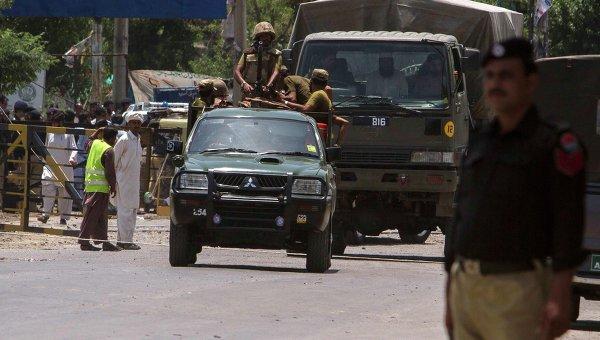 Пакистанские солдаты. Архивное фото