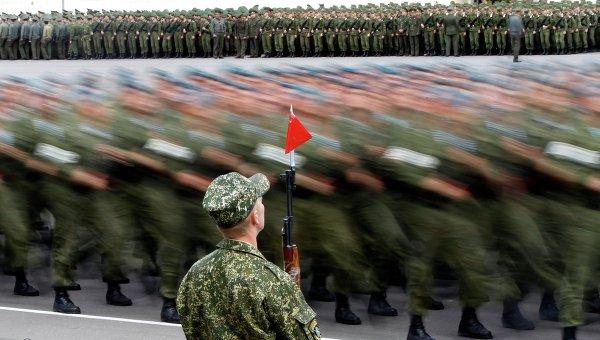 Белорусские военные. Архивное фото