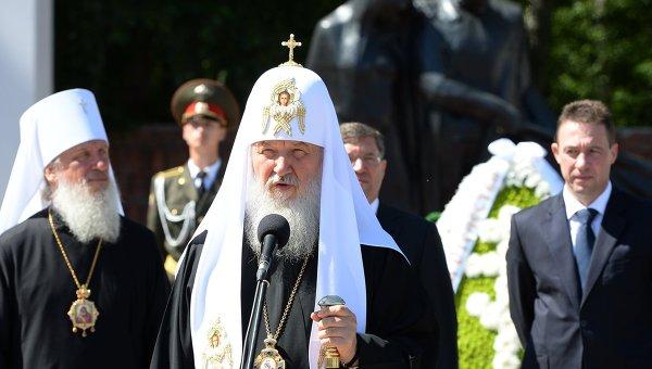Визит патриарха Кирилла в Тюмень