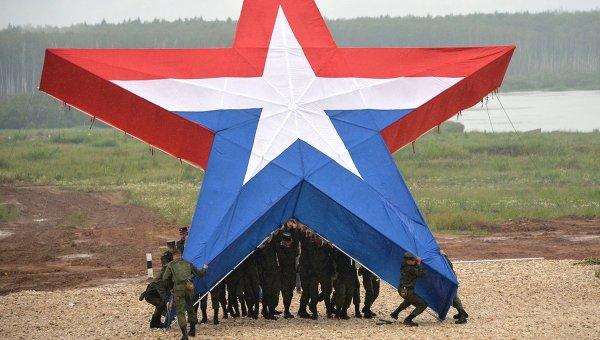 Знак Армия России. Архивное фото