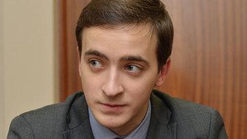 Заместитель директора Центра политической информации Алексей Панин