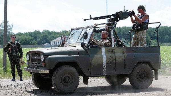 Бойцы Национальной гвардии Украины. Архивное фото