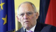 Министр финансов Германии Вольфганг Шойбле. Архивное фото