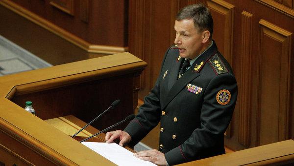 Генерал-полковник Украинской армии Валерий Гелетей. Архивное фото