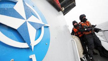 Военный корабль НАТО. Архивное фото