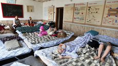Беженцы из Славянска и Краматорска