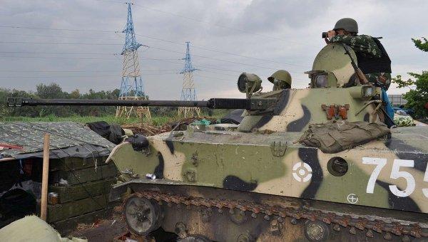 Украинская армия на востоке страны. Архивное фото