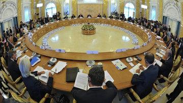 Второе рабочее заседание участников саммита Группы двадцати. Архивное фото